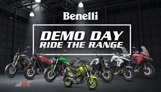 Your chance to ride! Benelli National Demo Day, November 14
