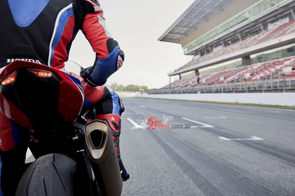 "Even Honda's PR blurb admits that this ""ultimate statement of pure super-sports aggression is not built with a road-rider's needs in mind; the racetrack is where it belongs."""