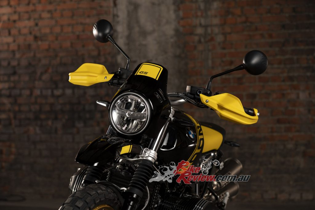 """The Urban G/S will be offered exclusively in Australia in the """"Edition 40 Years GS"""" scheme."""