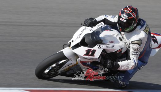 Throwback Thursday: Troy's Last Ride, testing the BMW Motorrad Motorsport S 1000 RR