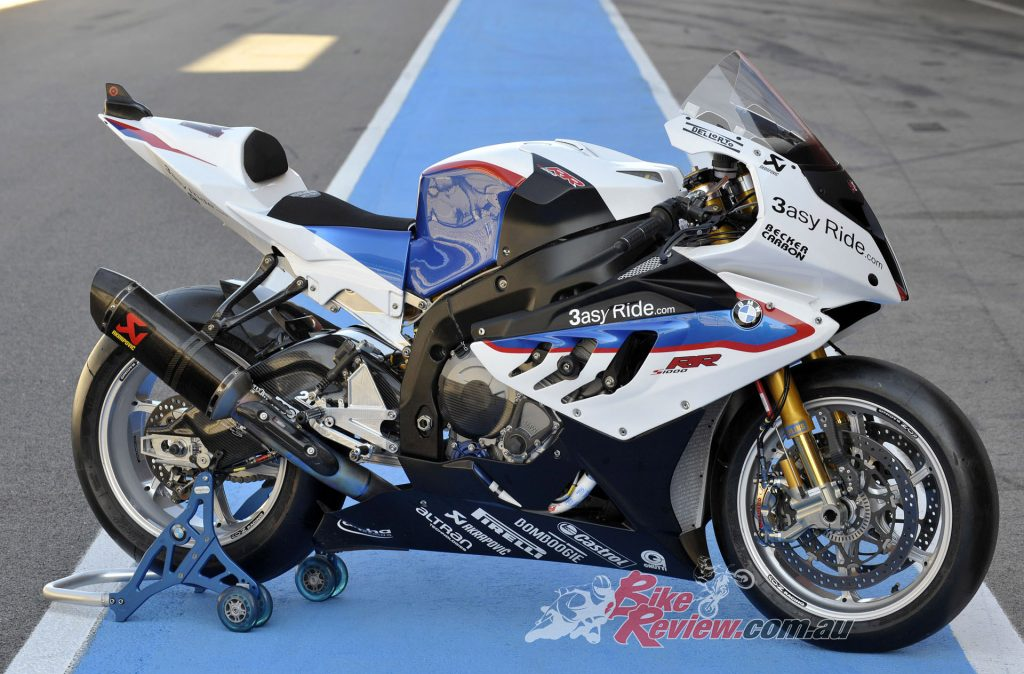 The BMW Motorrad Motorsport S 1000 RR was heavily modified for 2011.