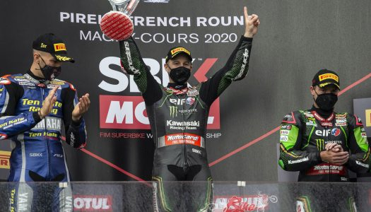 WorldSBK Rd7, Magny-Cours, Rea & Redding share the champagne