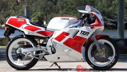Throwback Thursday: Video – Resto & Ride, 1989 Yamaha TZR2503MA Reverse-Cylinder