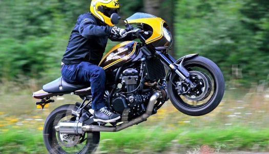 Tweaked: 200hp Turbocharged Kawasaki Z900RS Cafe