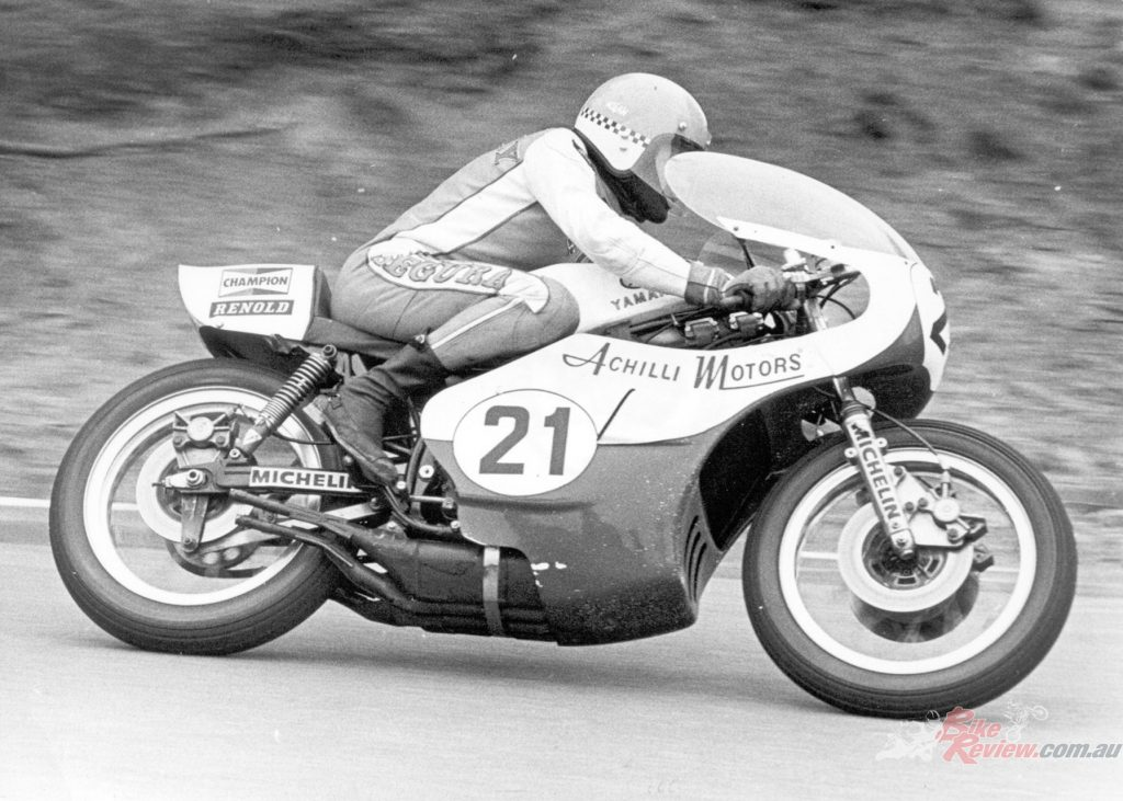 Jack Findlay won the 1975 FIM Formula 750 Championship on a privateer TZ750B