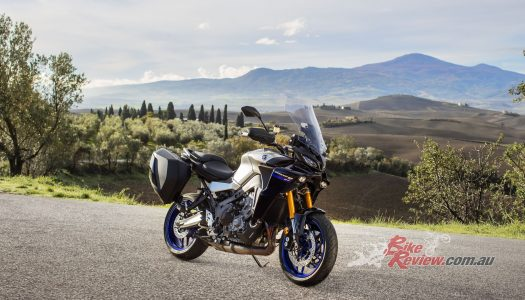 The all-new Yamaha Tracer 900 GT revealed.