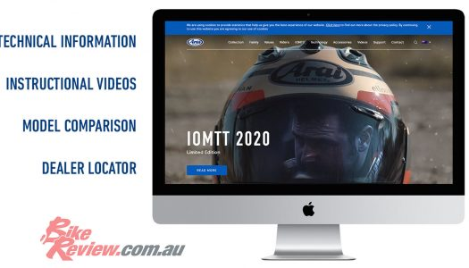 A new Arai Helmets Australia site has launched, check it out!