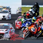 Cars and Bikes join for the Australian All Wheels Race Fest