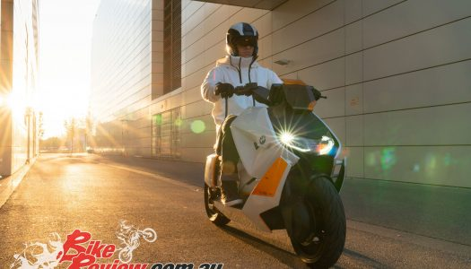 BMW Motorrad Definition CE 04 electric scooter announced.