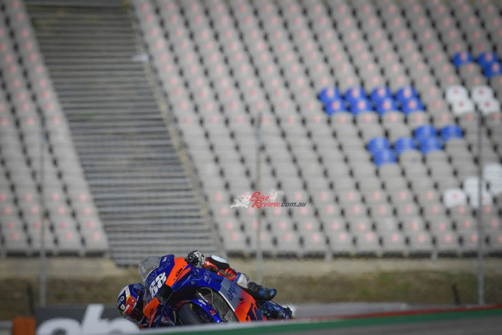 Oliveira became the first MotoGP winner at Portimao and the first Portuguese rider to win a MotoGP race!