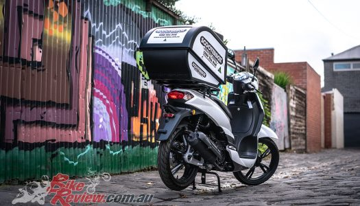 Receive a free Scooterbox with the new Peugeot Tweet 125 Pro