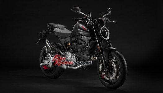 2021 Ducati Monster announced in LAMs & full power, $18,200 RA