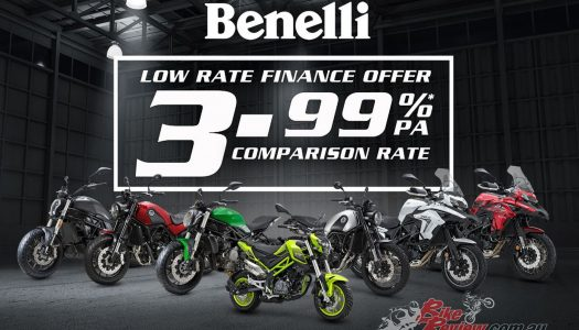 Benelli offering 3.99%PA comparison rate over Christmas