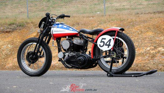 "Classic Custom: Class C Racer ""Captain America"""