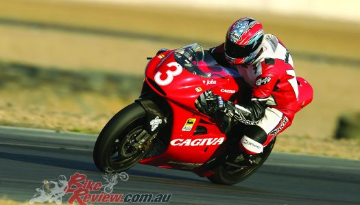 Throwback Thursday: ex John Kocinski Cagiva V593 GP500