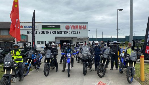 Destination Yamaha are back on the trails once again