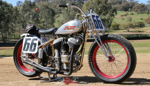 Custom Classic: Hot Shoe Indian Flat Track Racer
