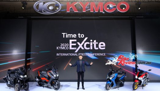 KYMCO announces four bikes with a host of new technology for 2021
