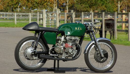 Throwback Thursday: REG 250, the first twin-cylinder 250GP racer