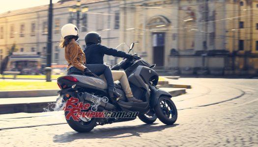 The all new 2020 Yamaha Tricity 300 three-wheeler