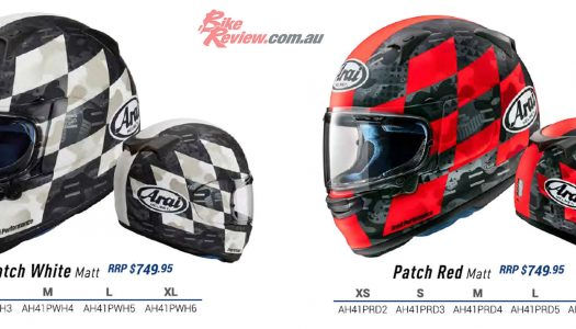 All New Graphics released for the 2021 Arai Profile-V