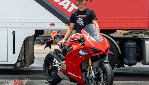 Oli Bayliss to Race the DesmoSport Ducati Panigale V4 R