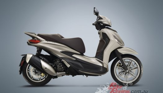 The new 2021 Piaggio Beverly has been unveiled