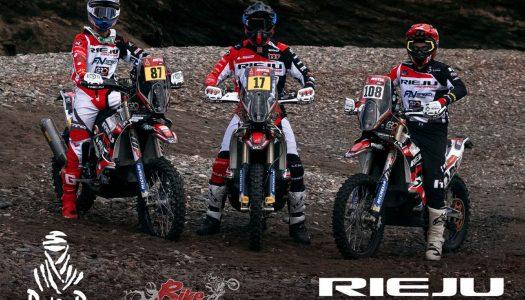 Rieju Breaks Into the Top 15 at Dakar 2021.