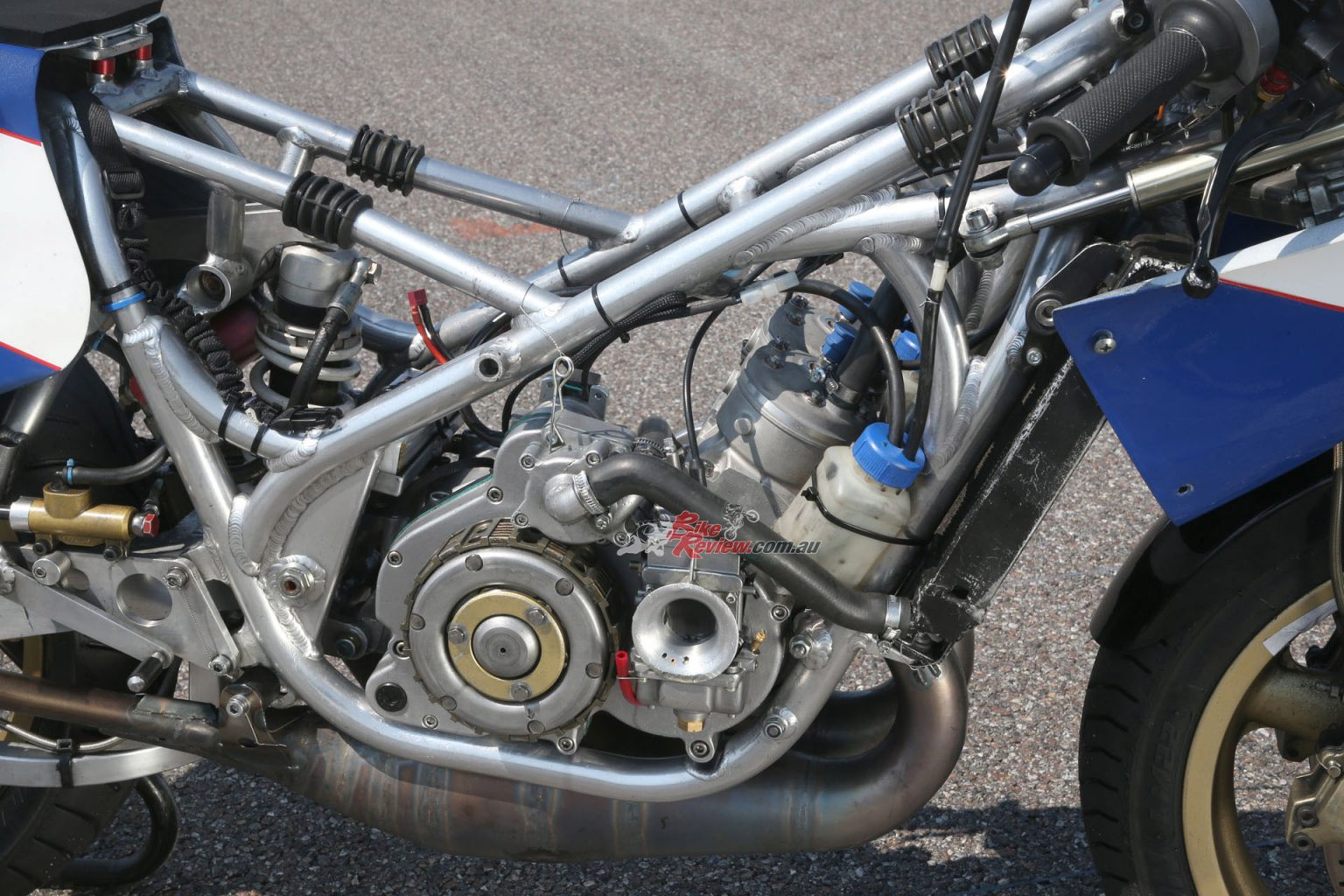 Throwback Thursday: REG 250, the first twin-cylinder 250GP
