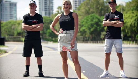 The ASBK Management team welcome new TV host