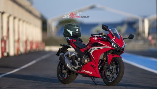 Ventura Bike-Pack System now available for Honda CBR500