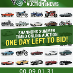 Last Day To Bid! Shannons Summer Timed Online Auction… Ends 7pm!