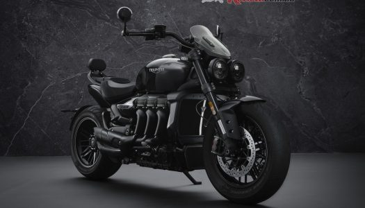 Special Edition: Triumph Rocket 3 R Black and Rocket 3 GT Triple Black