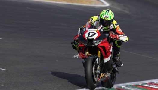 ASBK: Champ Wayne Maxwell just .310 Behind Herfoss on Day One