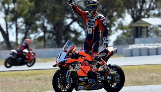 ASBK News: Winton Rd2, Maxwell Takes Round Win After Epic Battle With Herfoss