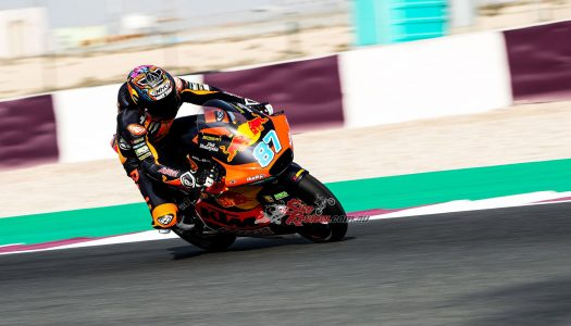 Moto2 News: Gardner Day 1, Third Day 2/3 at Doha