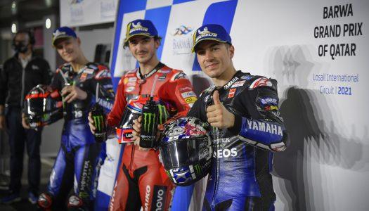MotoGP Qualifying: Pecco sets new lap record at Qatar
