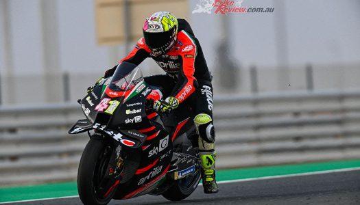 Miller takes lap record as MotoGP testing resumes