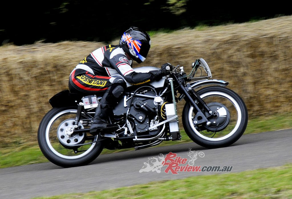"""""""When that Veglia tacho needle hits the 7,000rpm mark, the V8 Guzzi seems to pick up its skirts and fly""""."""