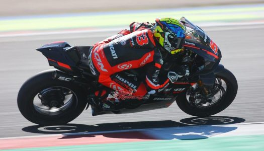 WorldSBK testing completed at Misano World Circuit