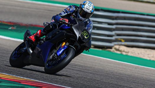 WSBK Days One & Two of Aragon Testing complete