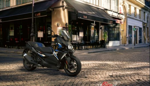 Updated Model: 2021 BMW C400 X & C400 GT