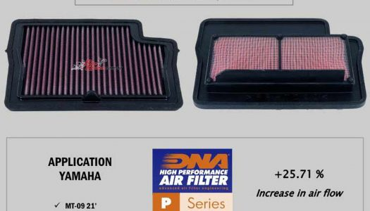 DNA release their Airfilter for the 2021 Yamaha MT-09