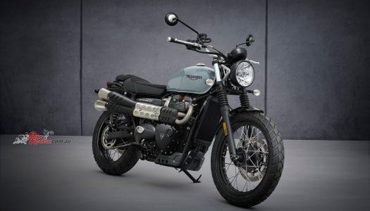 Updated Model: 2021 Triumph Street Scrambler