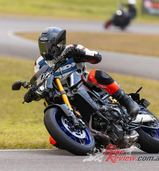 Jeff Ware on the MT-09SP.