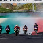 Aprilia Champions Unite on the Misano Circuit, Amazing Event!