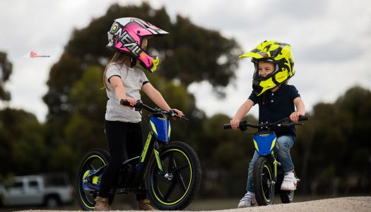 Sherco electric balance bikes released for Australia