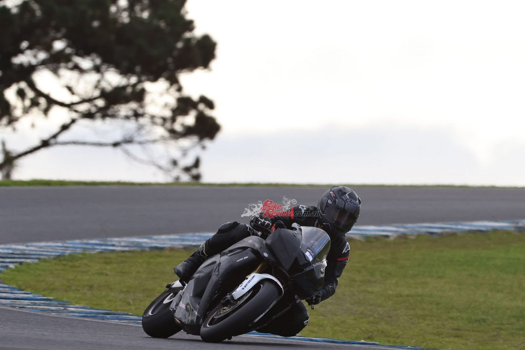"""""""The TD SLICK allowed me to make corrections to my steering, even during braking or when on the power""""..."""