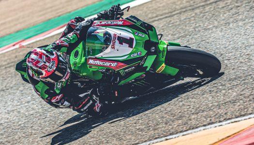 Rea smashes pole lap record at WSBK Aragon test