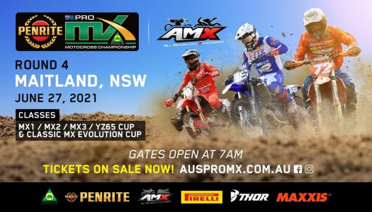 The ProMX Championship Heads to Maitland Tomorrow!
